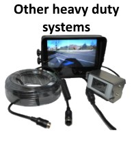 Other heavy duty Reversing Camera Systems