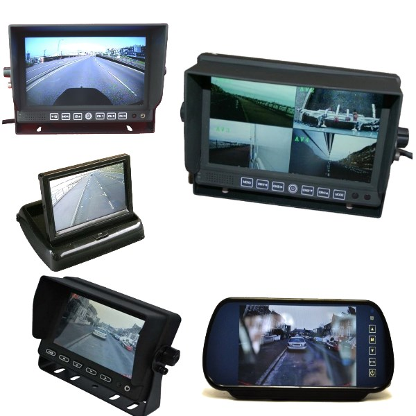 Rear view monitors