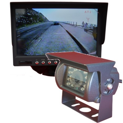 7 inch colour dash monitor system with CCD reversing camera