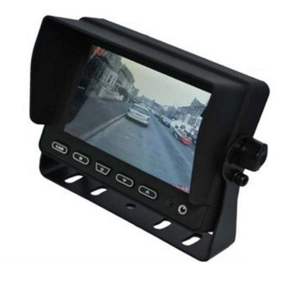 Heavy duty 5 inch rear view monitor
