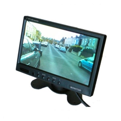 7 inch colour rear view stand on dash monitor