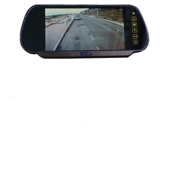 7 Inch Mirror Monitor Monitor And Ford Transit Custom