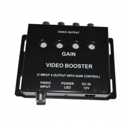 4 way video booster