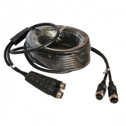 10m 4 pin reversing camera Y extension cable