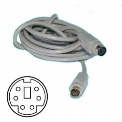2m monitor extension cable