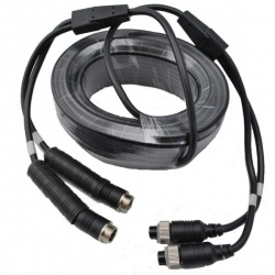 12.5m 4  pin Y extension cable for reversing camera