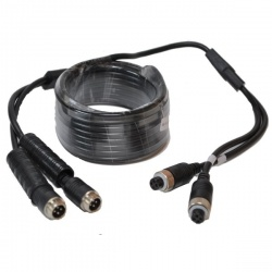 5m 4 pin reversing camera Y extension cable