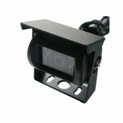 CCD bracket reversing camera with 4 pin connectors PAL