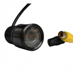 CCD bullet reversing camera with RCA connectors
