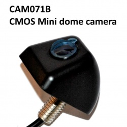 Black mini dome CMOS reversing camera
