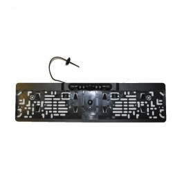 CCD number plate frame reversing camera
