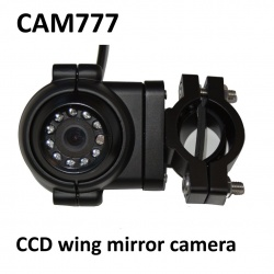 CCD wing mirror camera for HGV