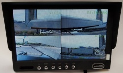 7 inch stand on dash quad screen