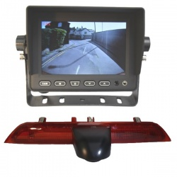 5 inch stand on dash monitor and CCD Ford Transit brake light camera