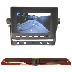 5 inch stand on dash monitor and Mercedes Sprinter brake light camera