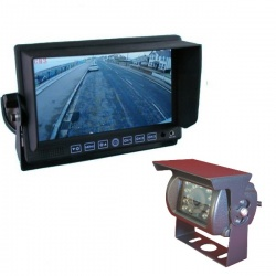 7 inch heavy duty reversing system with CCD reversing camera