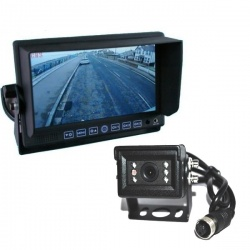 7 in stand on dash monitor and small CCD reversing camera
