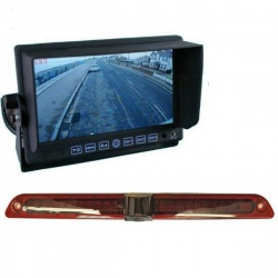 7 inch stand on dash monitor and Mercedes Sprinter brake light reversing camera