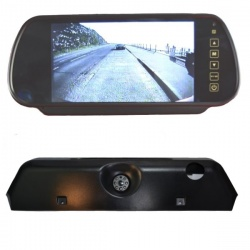 7 inch mirror monitor monitor and Iveco Daily brake light camera