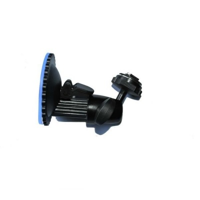Suction mount for dash mount rear view monitor