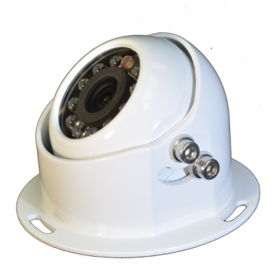 PAL CCD Dome reversing camera