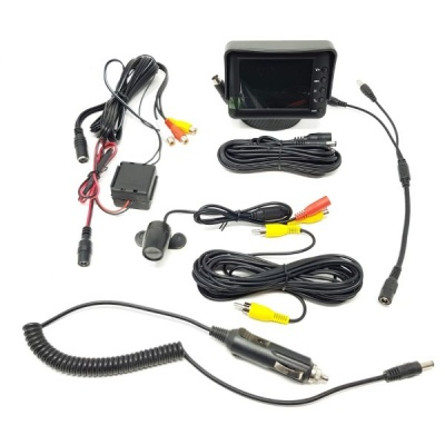 3.5 inch monitor and CMOS reversing camera
