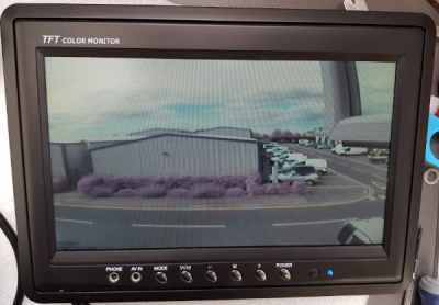 9 inch colour rear view monitor