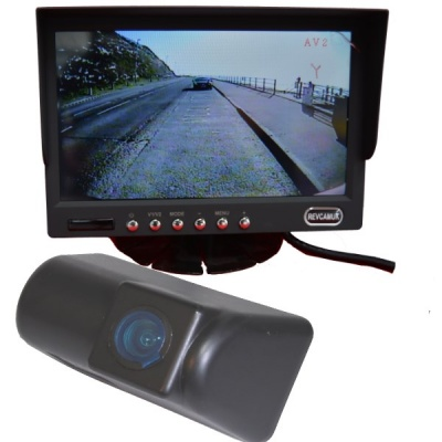7 inch colour dash monitor and Ford Transit CMOS number plate light camera