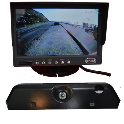 7 inch colour dash monitor and Iveco Daily brake light camera