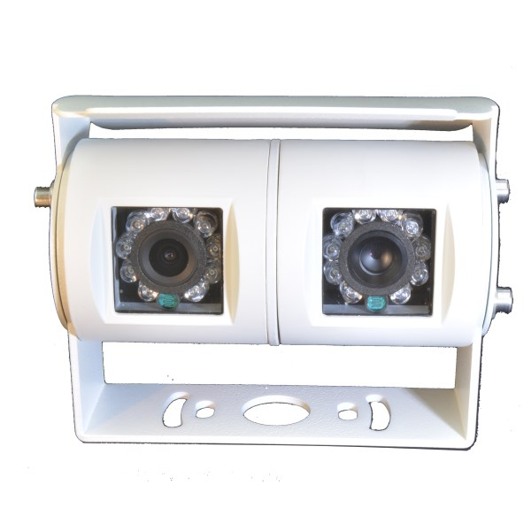 Twin lens CCD reversing camera with Sony 700 TVL CCD sensors