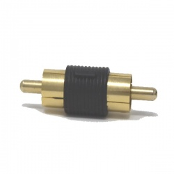RCA adaptor male to male