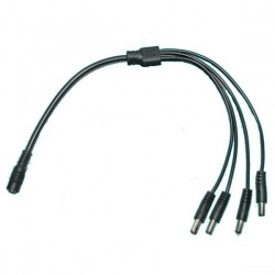 4 way power splitter cable for reversing camera