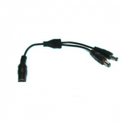 2 way power splitter cable for reversing  cameras