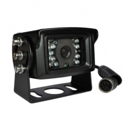 CCD reversing camera with mirror normal switch