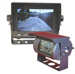 5 inch heavy duty reversing system with CCD camera