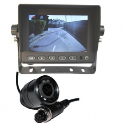 5 inch stand on dash monitor and CCD bullet reversing camera