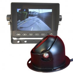 5 inch stand on dash monitor and CCD dome reversing camera