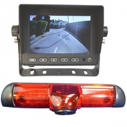 5 inch stand on dash monitor and Fiat Ducato CCD brake light camera