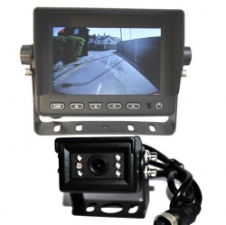 5 in stand on dash monitor and small CCD reversing camera