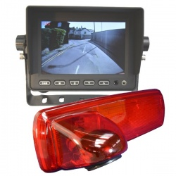 5 inch stand on dash monitor and Vauxhall Vivaro CCD brake light reversing camera