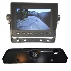 5 inch stand on dash monitor and Iveco Daily brake light camera