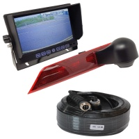 7 inch stand on dash monitor and Ford Transit Custom brake light reversing camera