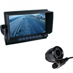 7 inch stand on dash monitor and CCD bullet reversing camera