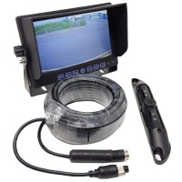 7 inch dash monitor and CCD number plate camera