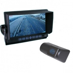 7 inch stand on dash monitor and Ford Transit CMOS number plate light reversing camera