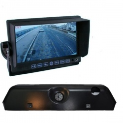 7 inch stand on dash monitor and Iveco Daily brake light reversing camera