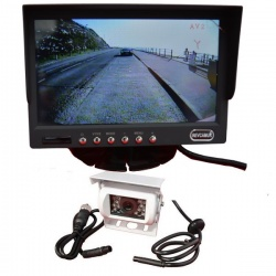 7 inch colour reversing camera system for motorhomes