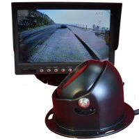 7 inch colour dash monitor and CCD dome reversing camera