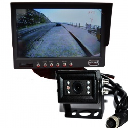 7 in colour dash monitor and small CCD reversing camera