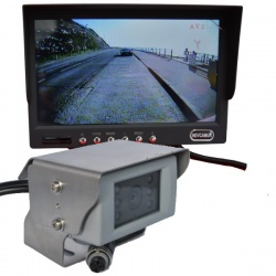 7 inch colour dash monitor and CCD reversing camera